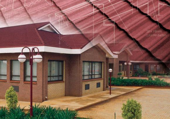 Lightweight Steel Tile Roofing Metal Tile Roof Steel